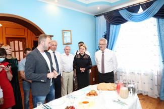 Пензенский губернатор изучил меню наровчатской гостиницы