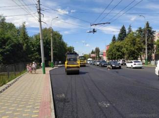 В Пензе продолжается ремонт дорог в рамках нацпроекта «БКАД»