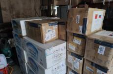 Пенза получила очередной гуманитарный груз из Китая