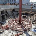 Строительство пензенского цирка: рабочие приступили к монтажу купола