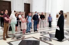 В Спасском соборе Пензы состоялась первая вечерняя экскурсия