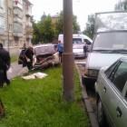 Пьяный зареченец протаранил 4 автомобиля