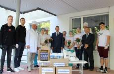 Сотрудники областной больницы им. Бурденко получили новую партию СИЗов