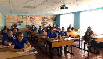 В Пензенской области для будущих пожарных прошло открытое занятие