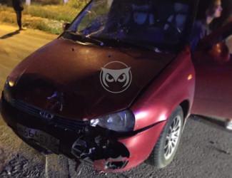 Жесткое ДТП в Пензе: легковушка сбила мотоциклиста