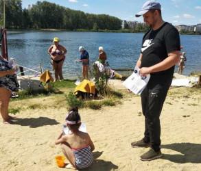 Жителям Пензы напомнили о правилах поведения у водоемов