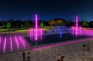 В Пензе для обновленного фонтана выбрали музыку