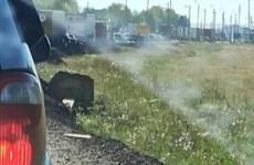 Пензенцы сообщают о серьезной пробке на трассе М-5