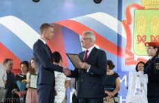 Иван Белозерцев поздравил пензенских выпускников на балу медалистов