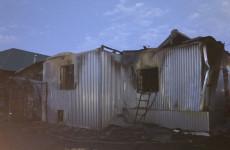 Серьезный пожар под Пензой тушили 17 человек
