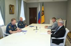 В Пензе прошла встреча Ивана Белозерцева и Николая Гречушкина