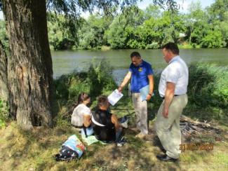 В Ленинском районе Пензенской области прошел рейд на тему безопасности у водоемов