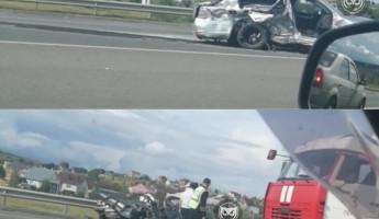 Ужасающее ДТП случилось на выезде из Пензы