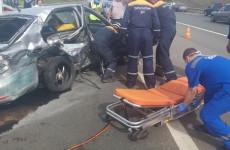 Ужасающую аварию на трассе «Пенза – Тамбов» прокомментировали в ГИБДД