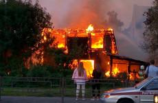 Появились новые фото с места крупного пожара на набережной в Пензе
