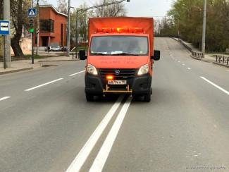 В Пензе подходят к концу работы по нанесению дорожной разметки