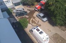 В Пензенской области к жилому дому стянулись машины экстренных служб