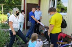 В двух районах Пензы проверили семьи из «группы риска»