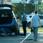 Автоледи из Заречного снесла дорожный знак и врезалась в забор
