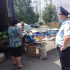 В пензенском микрорайоне Арбеково прошла облава на уличных торговцев