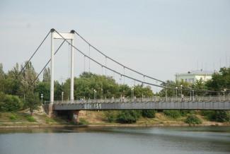 В Пензе на покраску подвесного моста могут потратить 9 млн рублей