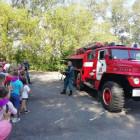 В Каменке в детский пришкольный лагерь пришли пожарные