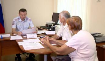 В Пензе полковник полиции Максим Петрушин провел личный прием граждан