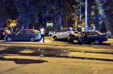Аварию на улице Лермонтова прокомментировали в пензенском УГИБДД