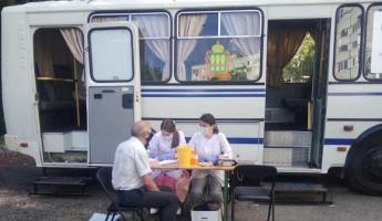 В Пензе на улицу 8 Марта приехал «Автобус здоровья»