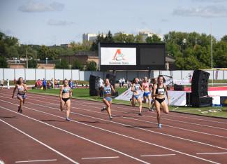 В Пензе прошли чемпионат и первенство области по легкой атлетике