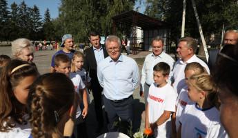 Пензенский губернатор оценил ход реконструкции парка в Колышлее