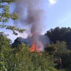 Пожар в Арбеково прокомментировали в пензенском ГУ МЧС
