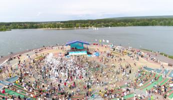 В Спутнике 18 часов отмечали день города