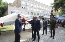 В Пензе в экспозиции ДОСААФ появился отреставрированный самолет ЯК-52