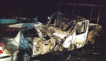 Житель Пензенской области попал в чудовищное «огненное» ДТП в Башкирии