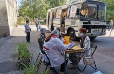 В Пензе «Автобус здоровья» приехал к жителям проспекта Строителей