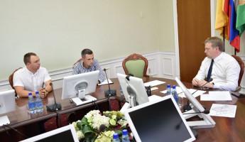 Мэр Пензы провел личный прием предпринимателей