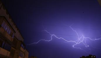 Завтра в Пензенской области снова прогнозируется дождь с грозой