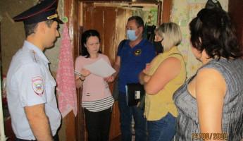 В Ленинском районе Пензы проверили 23 семьи из «группы риска»
