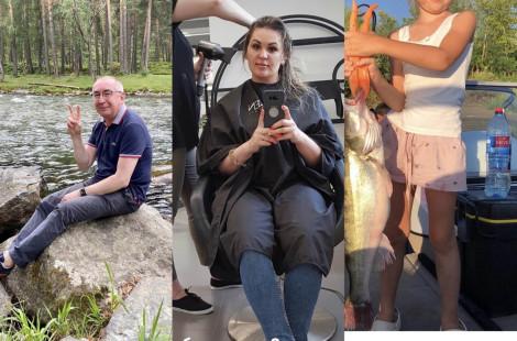 Вип-неделя: Беспалов в отпуске, у Мещеряковой новый имидж, а Подложенов показал свой улов