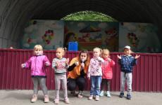 Маленькие пензенцы приняли участие в спортивной программе