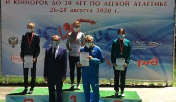 В Пензу отправилась бронзовая медаль по легкой атлетики