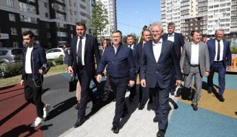 Министр строительства и ЖКХ России Владимир Якушев прибыл в Пензу