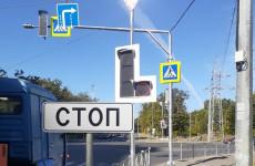 На пересечении улиц Мира и Окружной в Пензе работает «умный» светофор