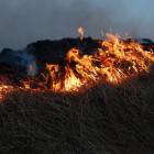 За один день пензенские спасатели дважды выезжали на тушение крупных пожаров