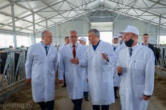 Вячеслав Володин посетил мега-ферму в Пензенской области