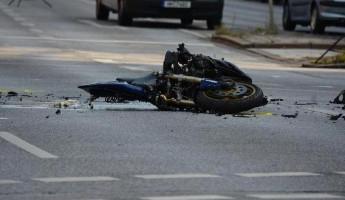 В страшную аварию под Пензой попал молодой мотоциклист