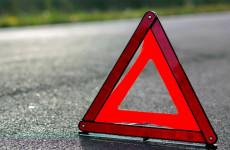 В Пензенской области иномарка влетела в дорожное ограждение