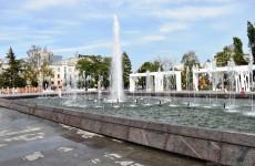 Опубликован график работы фонтана на улице Московской в Пензе