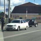 На улице Терновского в Пензе столкнулись две легковушки